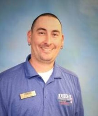 Reconditioning Manager Craig Barger in Diehl of Butler : Reconditioning Team at Diehl Automotive