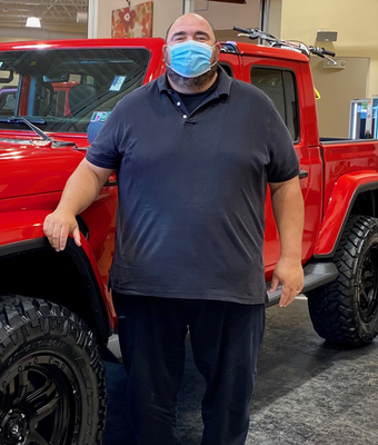Commercial Service Advisor Thomas Richardson in Diehl of Robinson : Service Team at Diehl Automotive