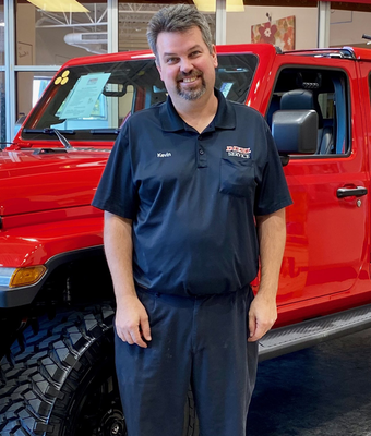 Service Advisor Kevin Geyer in Diehl of Robinson : Service Team at Diehl Automotive
