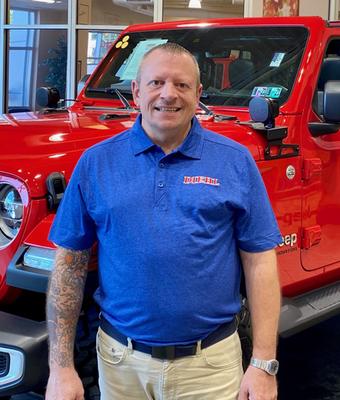 Title Clerk Michael Corra in Diehl of Robinson : Office Team at Diehl Automotive
