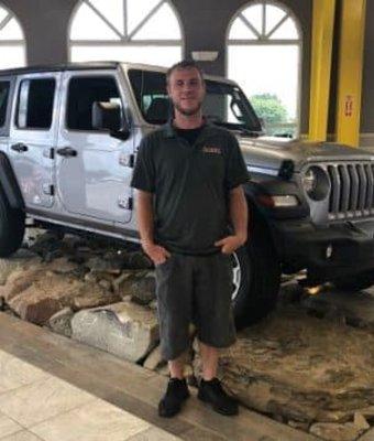 Reconditioning Manager Chad Fotheringham in Diehl CDJR of Salem at Diehl Automotive