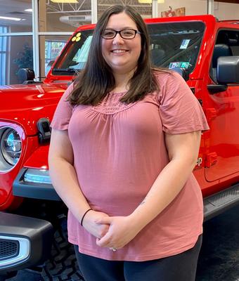 Warranty Administrator Chelsey Grossman in Diehl of Robinson : Office Team at Diehl Automotive