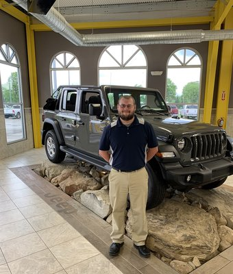 Service Manager Matthew Gilbert in Diehl of Salem : Service Team at Diehl Automotive