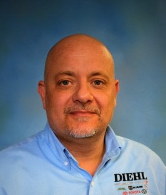 Sales and Lease Consultant Jeff Rossiter in Diehl Volkswagen of Butler : Sales Team at Diehl Automotive