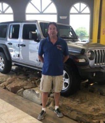 Parts Manager Rick Miller in Diehl of Salem : Parts Team at Diehl Automotive