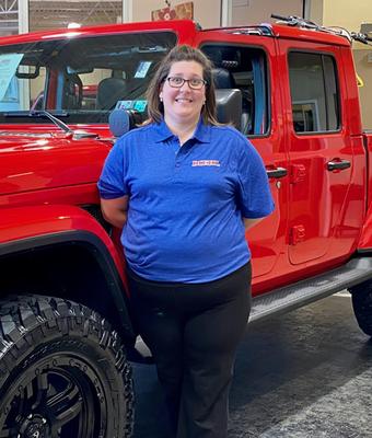 Appointment Coordinator Samantha Hughes in Diehl of Robinson : Service Team at Diehl Automotive