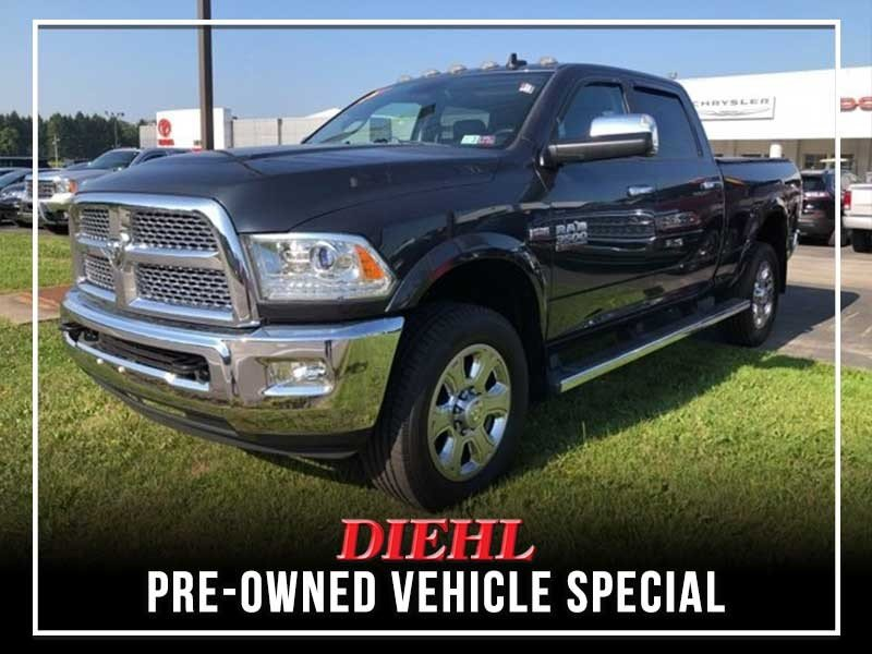 Special offer on 0   PRE-OWNED 2014 RAM 3500 LARAMIE 4WD