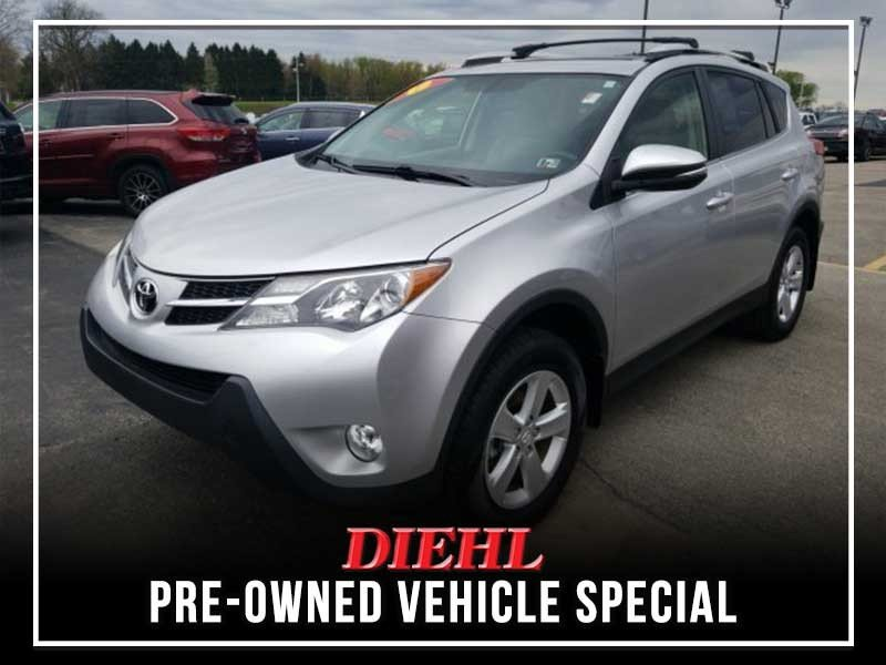 Special offer on 0   PRE-OWNED 2014 TOYOTA RAV4 XLE