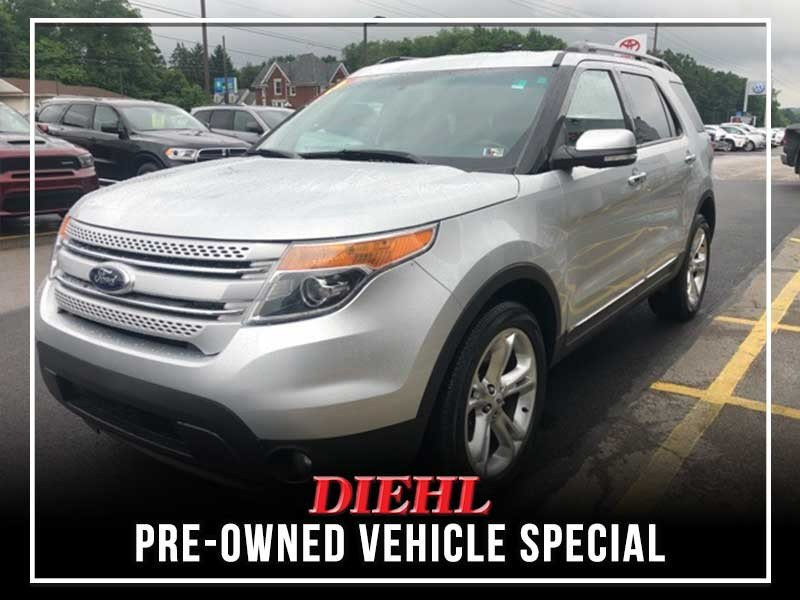 Special offer on 0   PRE-OWNED 2015 FORD EXPLORER LIMITED AWD