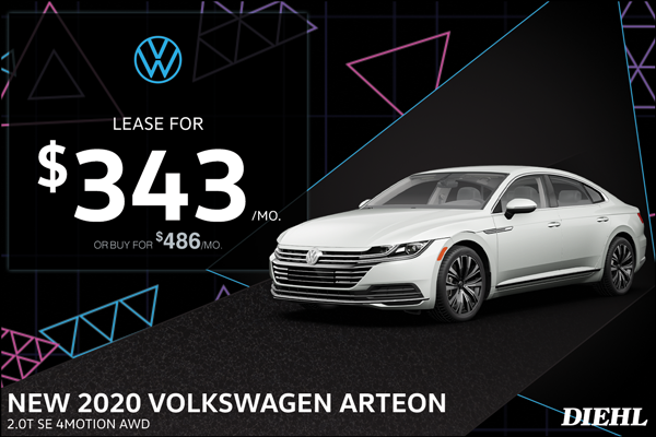 Special offer on 0   2020 ARTEON