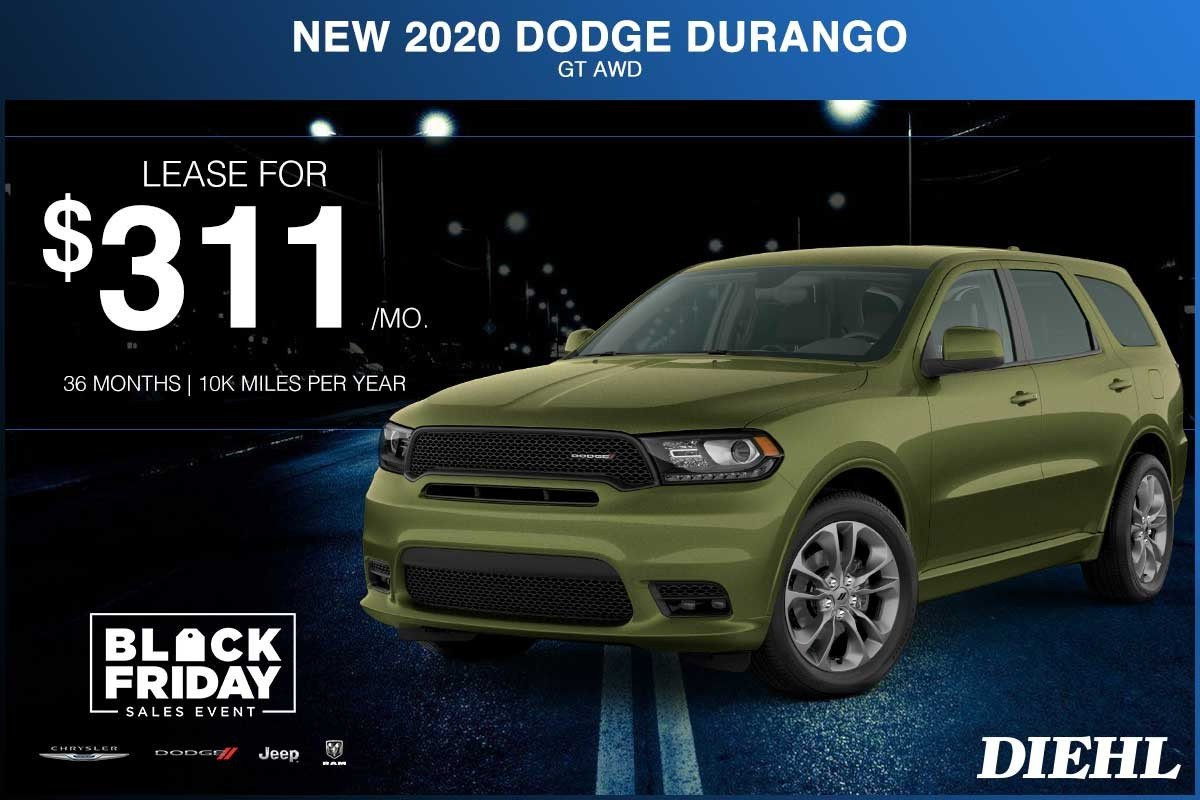 Special offer on 0   NEW 2020 DODGE DURANGO GT AWD