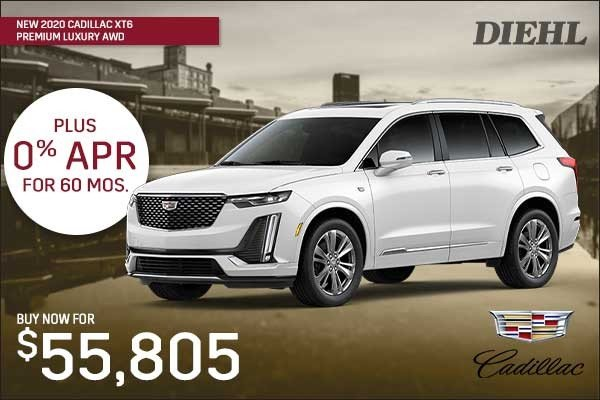 Special offer on 0   NEW 2020 CADILLAC XT6 PREMIUM LUXURY AWD