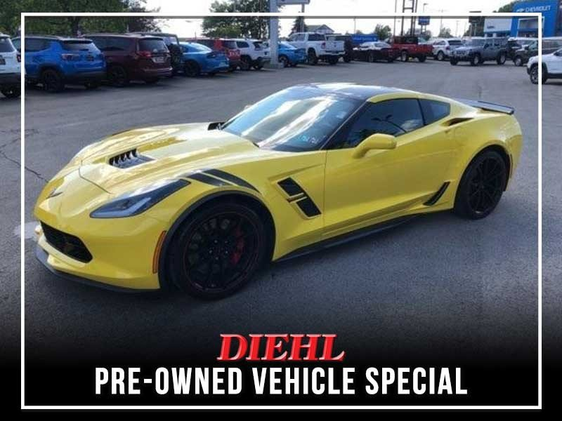 Special offer on 0   CERTIFIED PRE-OWNED 2017 CHEVY CORVETTE GRAND SPOR
