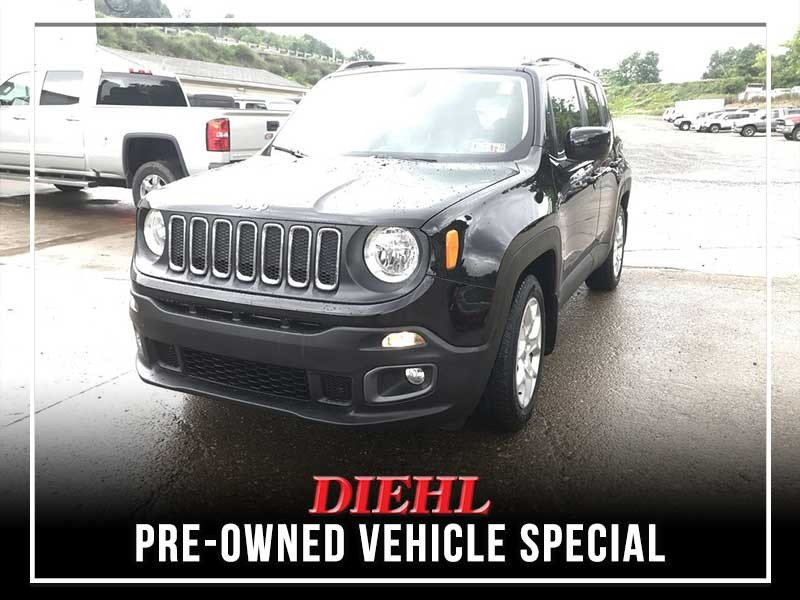 Special offer on 0   CERTIFIED PRE-OWNED 2015 JEEP RENEGADE LATITUDE