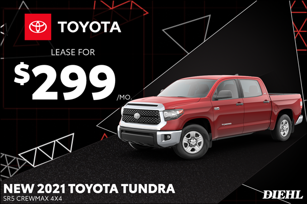 Special offer on 2021 Toyota Tundra 4WD 2021 TUNDRA