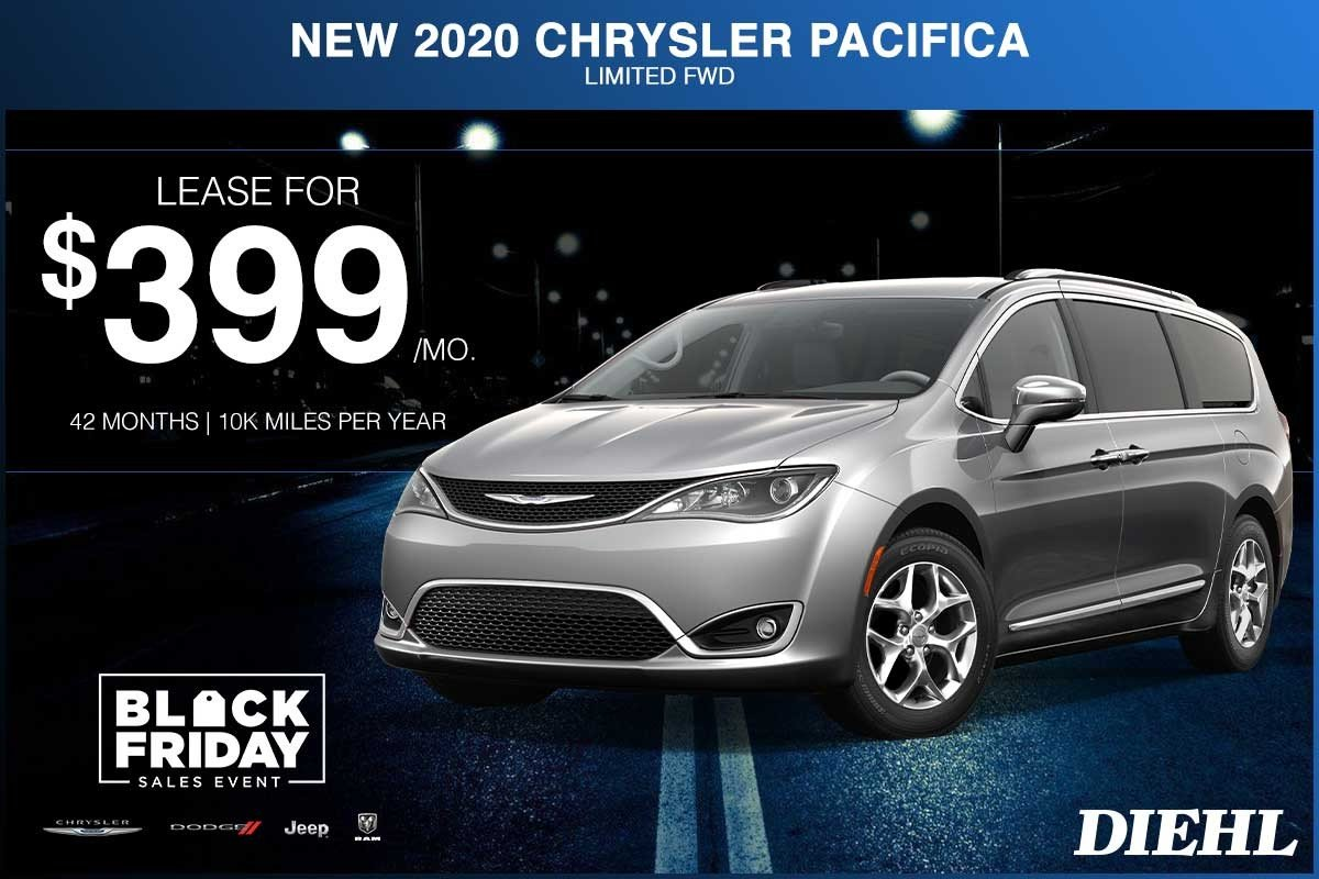 Special offer on 2020 Chrysler Pacifica NEW 2020 CHRYSLER PACIFICA LIMITED FWD