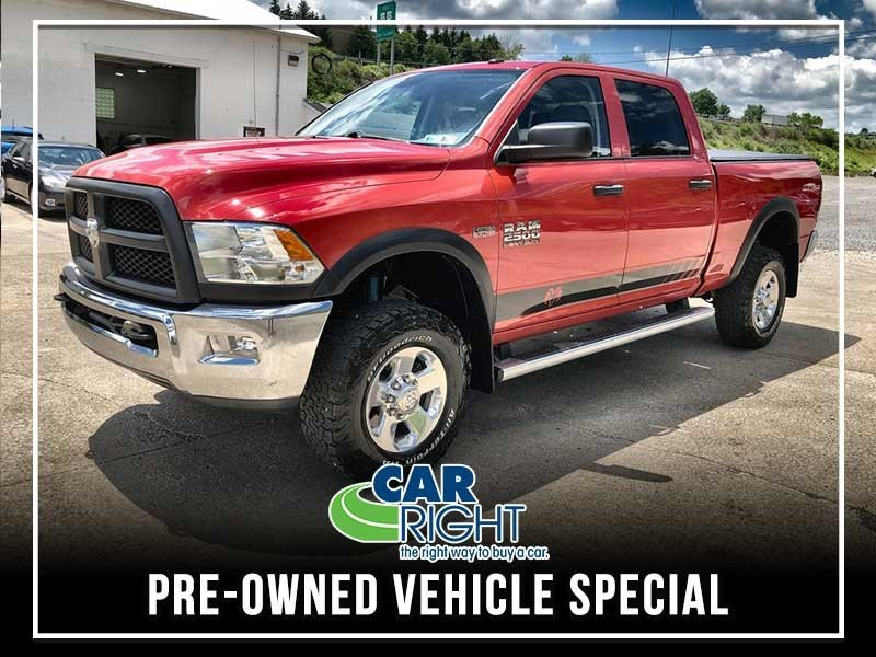 Special offer on 0   PRE-OWNED 2015 RAM 2500 TRADESMAN 4WD