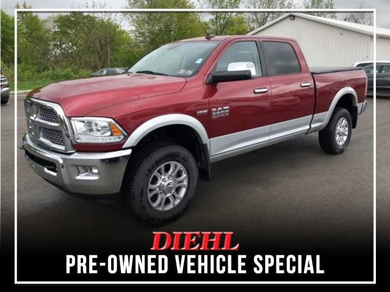 Special offer on 0   CERTIFIED PRE-OWNED 2015 RAM 3500 LARAMIE V8 CREW