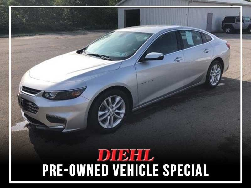Special offer on 0   CERTIFIED PRE-OWNED 2016 CHEVY MALIBU LT FWD