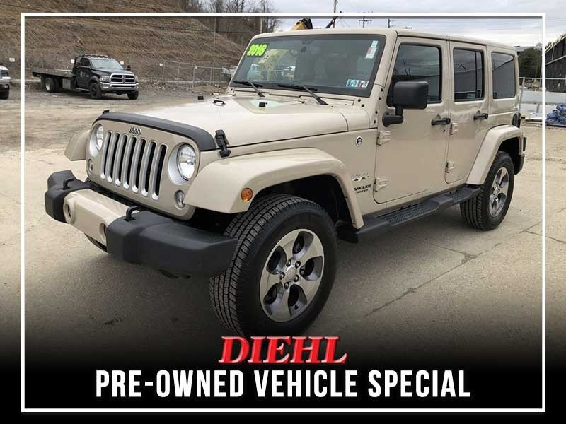 Special offer on 0   Certified Pre-owned 2016 Jeep Wrangler Sahara