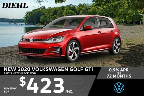 Special offer on 0   NEW 2020 VOLKSWAGEN GOLF GTI 2.0T S HATCHBACK FWD