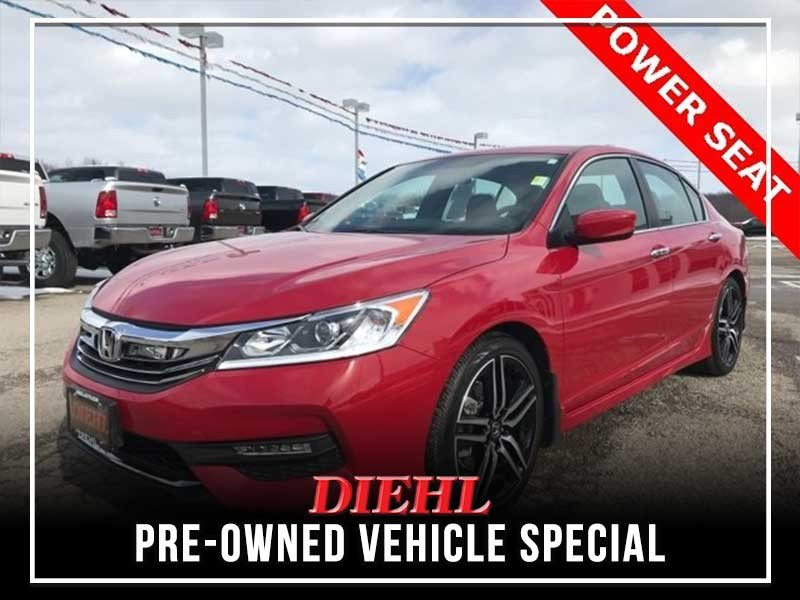 Special offer on 0   PRE-OWNED 2017 HONDA ACCORD SPORT SPECIAL EDITION