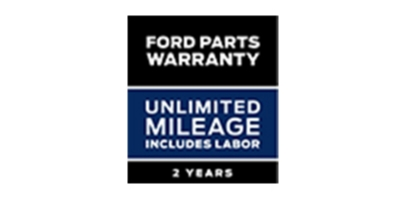 Coupon for Ford Parts Warranty Two Years. Unlimited Mileage. Includes Labor*