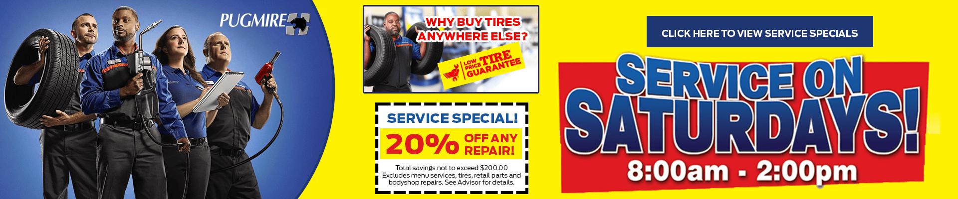 car repair service special