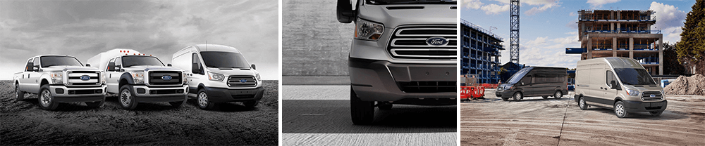 ford super duty and transit vans for your commercial business