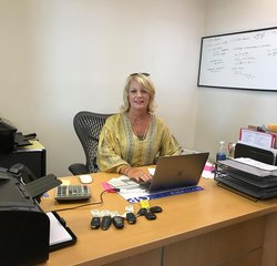 Sales Manager Jackie Clayton in Sales at Pugmire Ford