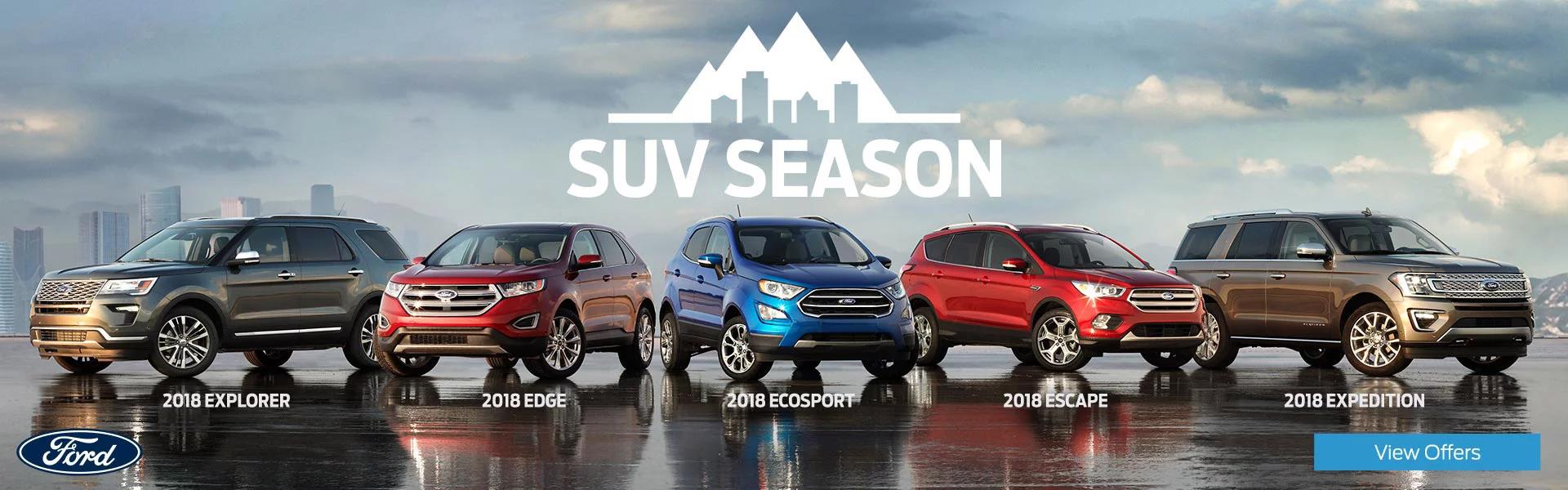 SUV Season Banner