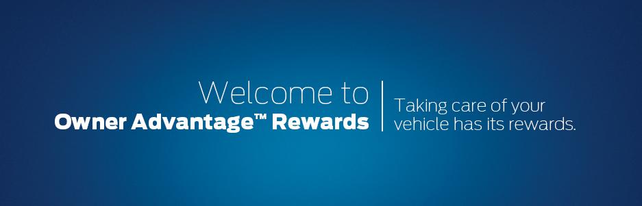Owner Advantage Rewards Banner