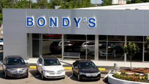 Bondy's Ford Lincoln Store Front
