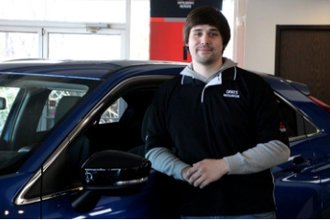 Sales Associate Richie O'Donnell in Oakes Mitsubishi Team at Oakes Auto