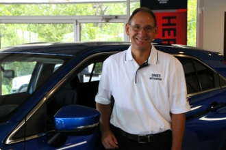 Reconditioning Manager David  Wedemeier in Oakes Mitsubishi Team at Oakes Auto