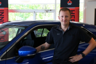 Inventory Specialist Jake Messer in Our Team at Oakes Auto