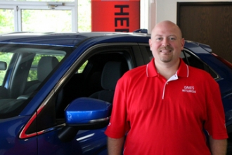 Sales Manager Pope Childers in Our Team at Oakes Auto