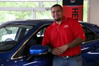 Sales Associate RJ Faiva in Oakes Mitsubishi Team at Oakes Auto