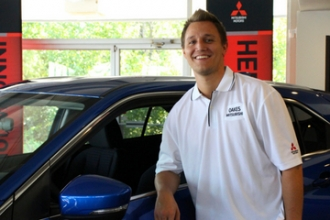 Sales Associate Ryan O'Donnell in Oakes Mitsubishi Team at Oakes Auto