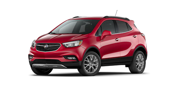 red 2020 buick encore sport touring