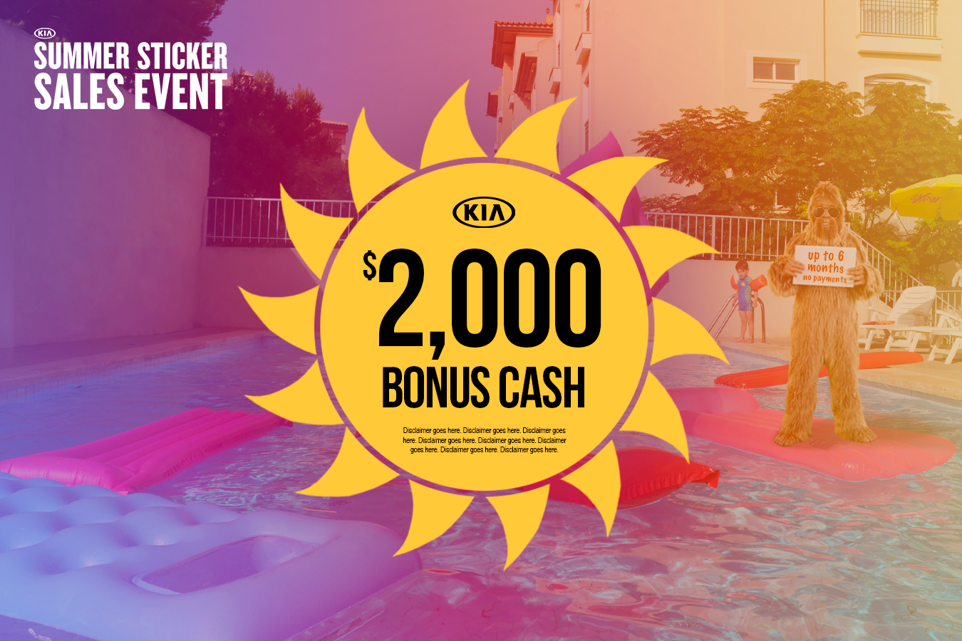 New Kia Offer of $2,000 Bonus Cash