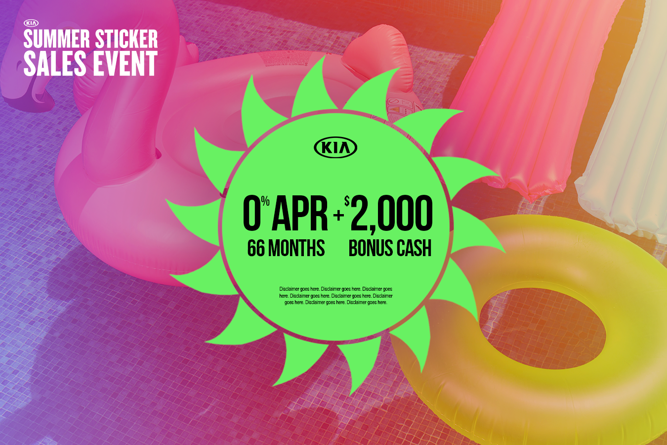New Kia Offer for 0% APR + $2,000 Bonus Cash