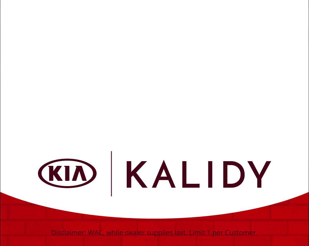 Kalidy Kia black friday savings and presents