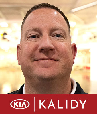 Sales Manager Richard Becker in Sales at Kalidy Kia