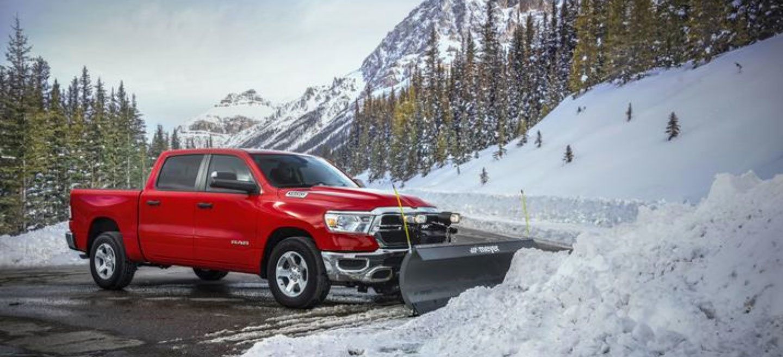 RAM Trucks: Snow Plowing Made Easy