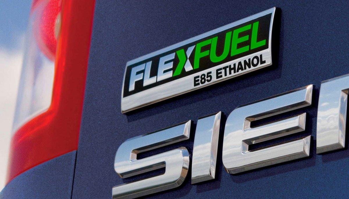 Flex Fuel Truck