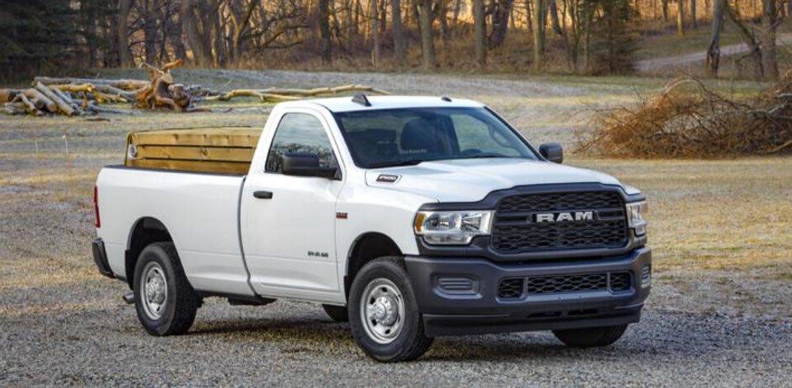 RAM 2500 Tradesman Trim