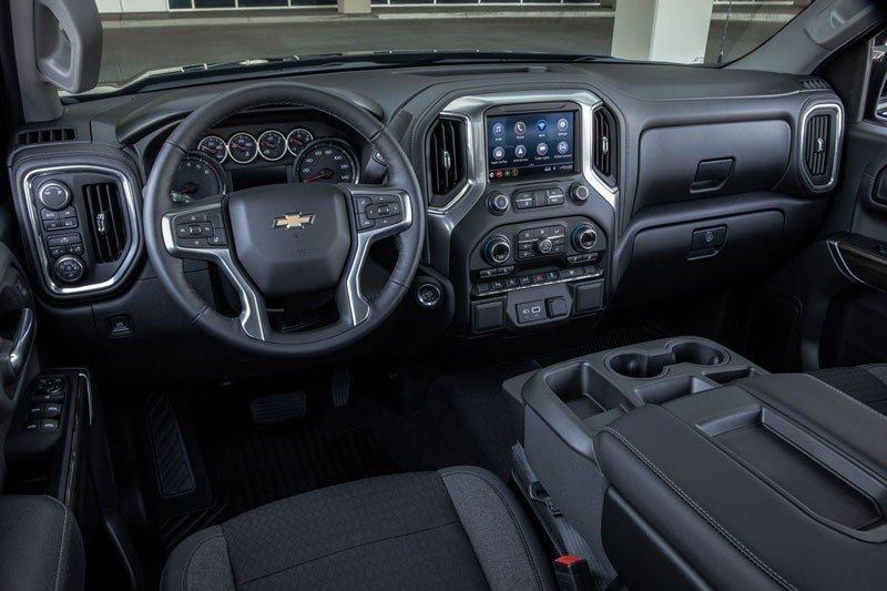 Chevy Silverado 1500 interior