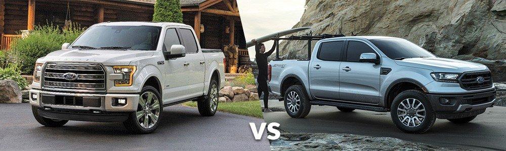 Ford F-150 vs. Ford Ranger