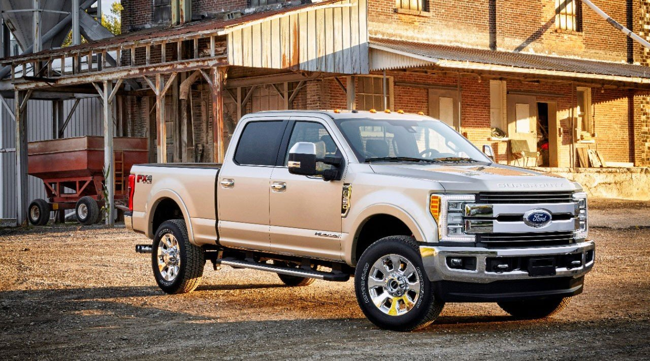 Ford F-350 Trims and Packages